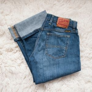 Lucky Brand Easy Rider Crop Jeans